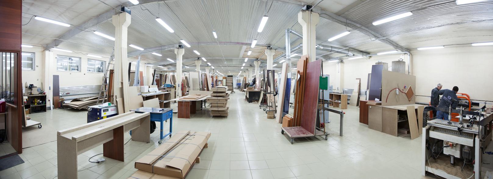 Описание компании по производству мебели