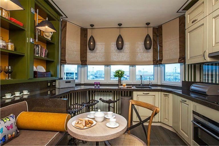 Дизайн небольшой кухни с окном идеи дизайна интерьера от vas.