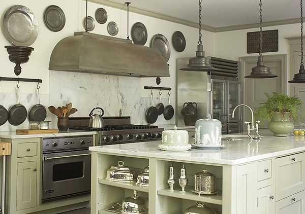 Кухни в стиле Прованс для дачи.