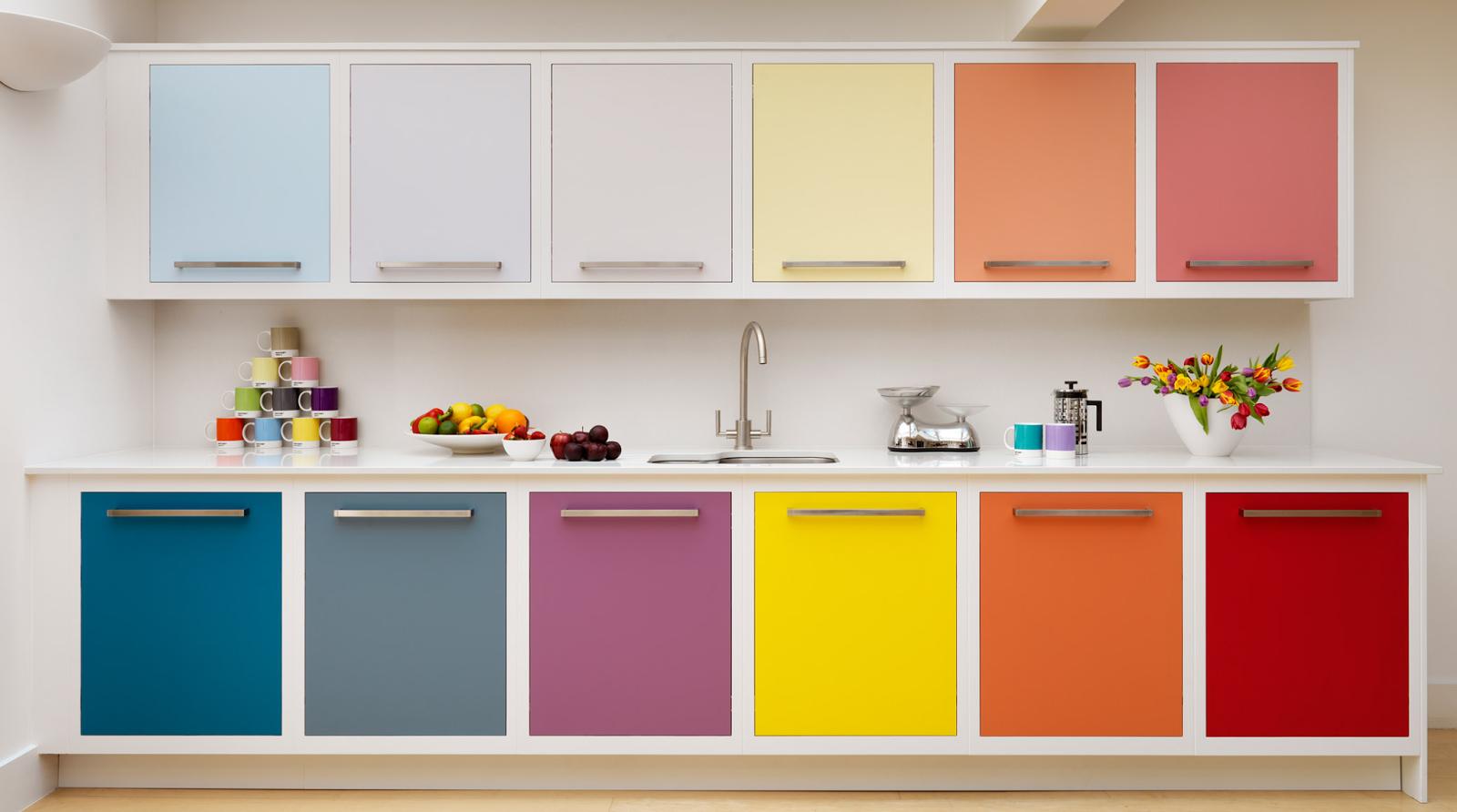 Цветовая гамма мебели для кухни